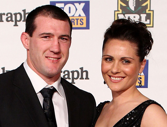 Paul Gallen and Partner Anne