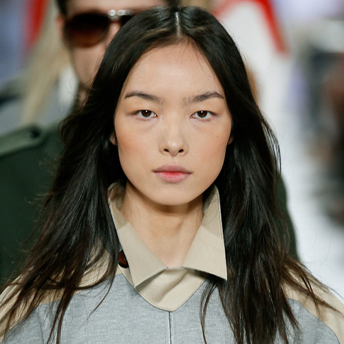 The Lightened-Up Lips at Lacoste