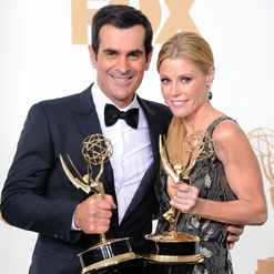Emmy Press Room Interview With Julie Bowen and Ty Burrell