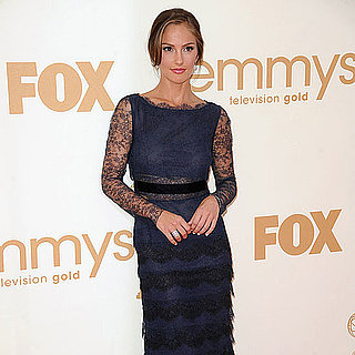 Minka Kelly Emmys 2011 Red Carpet Pictures