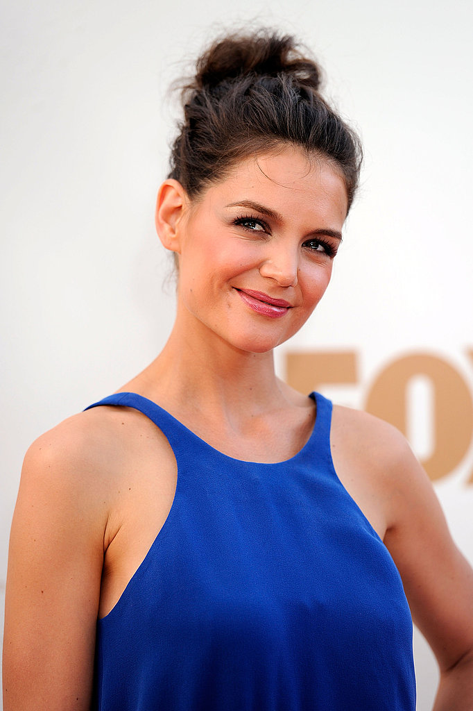 Katie Holmes at the 2011 Emmys.