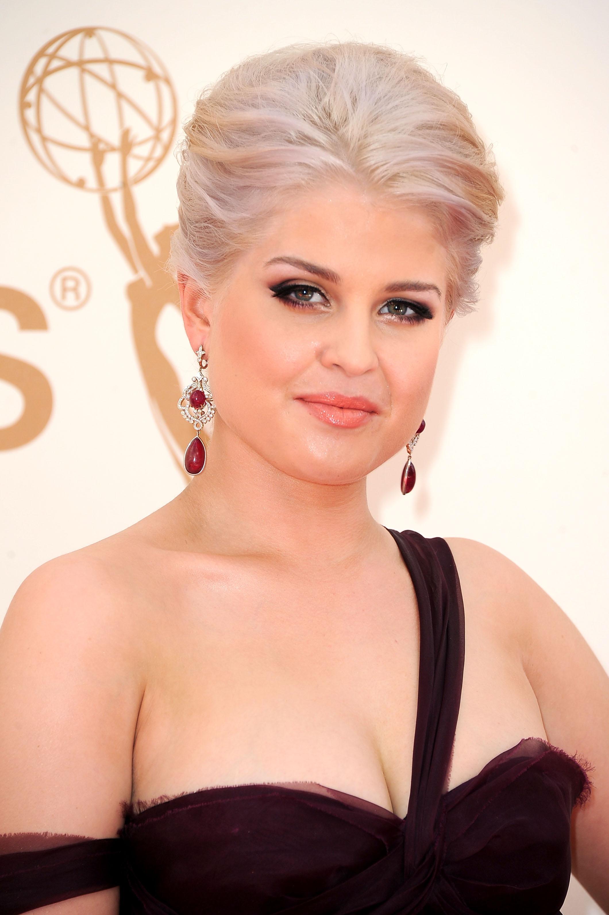 Kelly Osbourne at the Emmys.