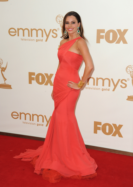 Sofia Vergara at the Emmys.