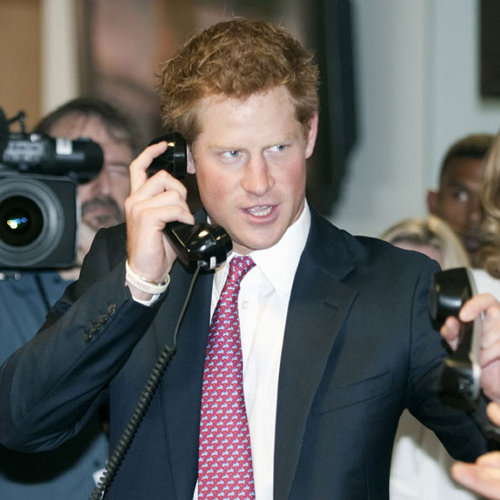 Prince Harry Sets a World Record in London Pictures