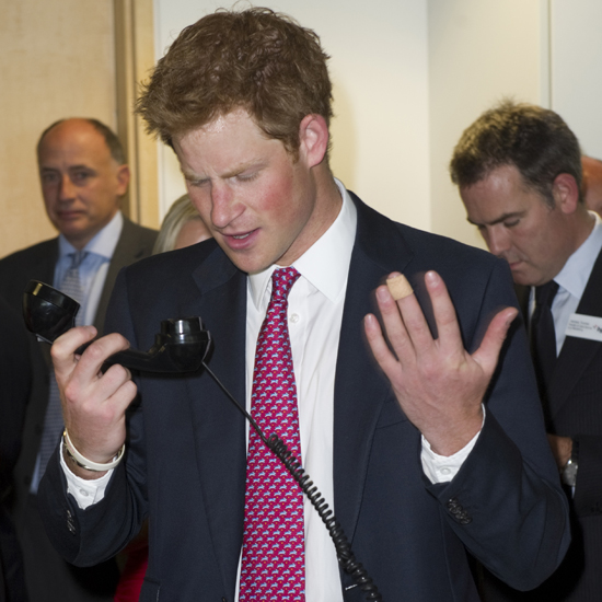 Prince Harry at BGC Charity Day