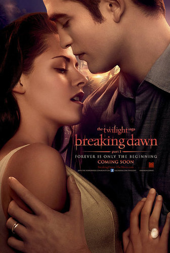 "Edward/Bella ""Breaking Dawn"" Poster + New trailer September 13"