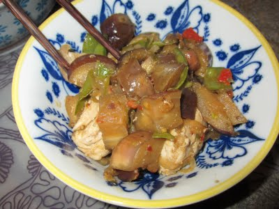 Sweet and Spicy Chinese Eggplant