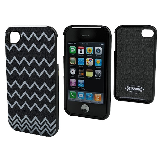 Black/White Jagged iPhone Case ($30)