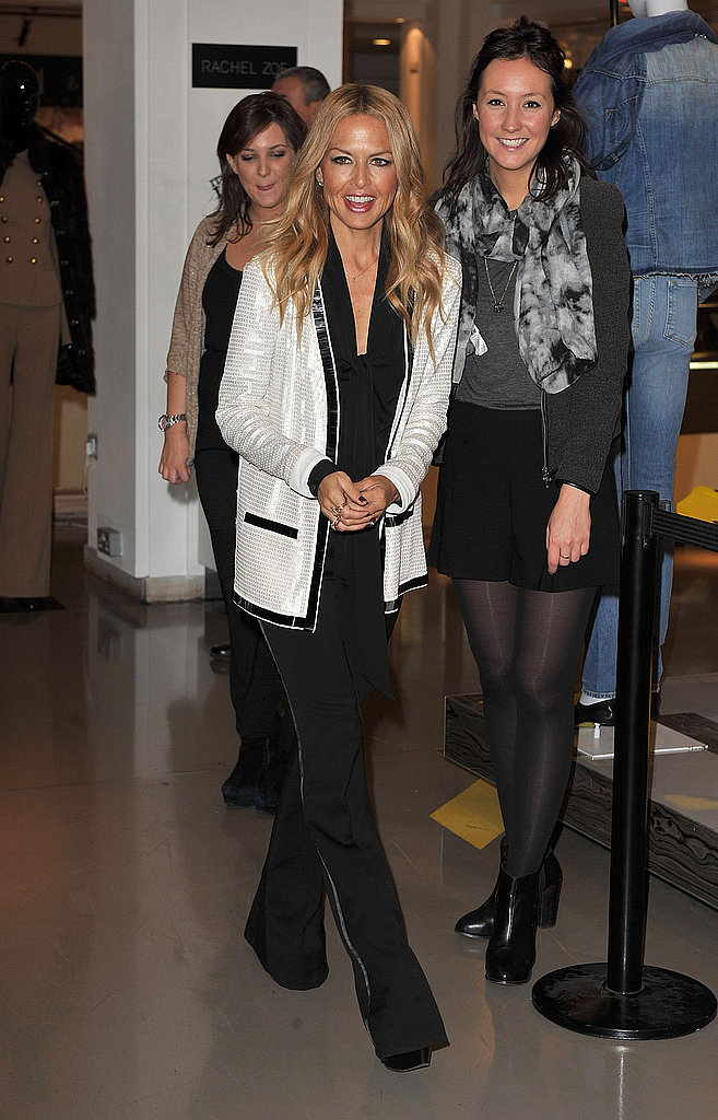 Rachel Zoe launches her line at Selfridges.