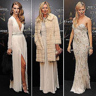 Kate Moss, Sienna Miller, Rosie Huntington-Whiteley Style