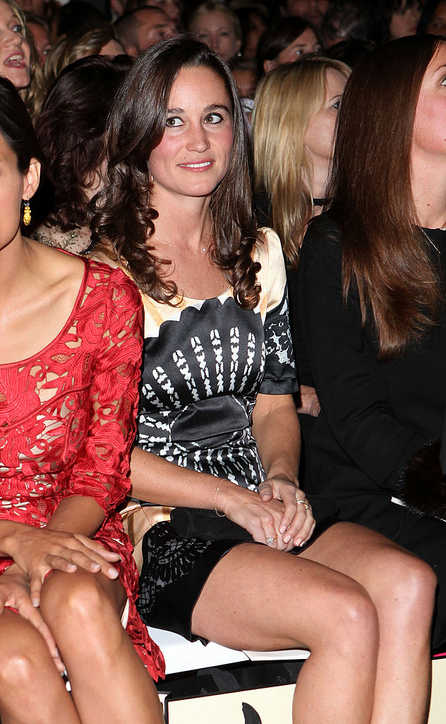 Pippa Middleton Takes a Front-Row Seat at Temperley's Runway Show