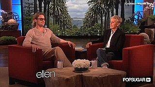 Brad Pitt on Ellen DeGeneres Talking About Kids Pressuring Him to Marry Angelina Jolie