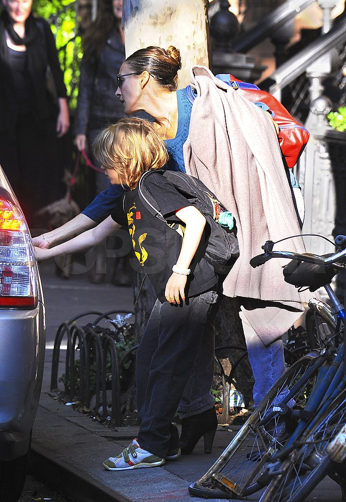Sarah Jessica Parker and James Wilkie Are Step in Step For the School Run