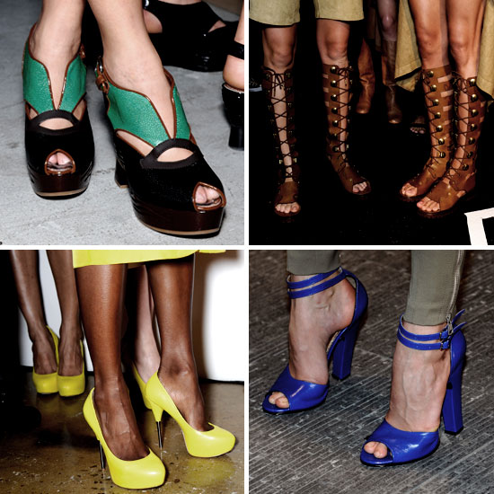 Shoes From New York Fashion Week Spring 2012