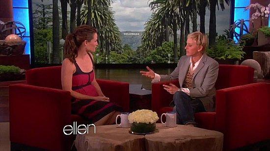 Jennifer Garner Talks Pregnancy and New Baby on Ellen Video