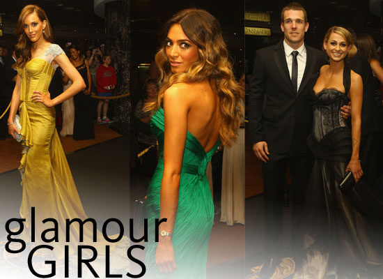 Pictures of AFL WAGs on the Red Carpet at the 2011 Brownlow Medal: Brynne Edelsten, Rebecca Judd, Nadia Coppolino & more