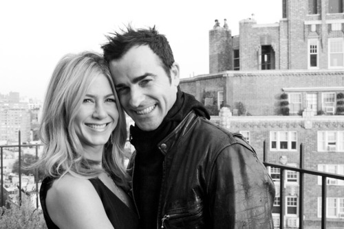 Jennifer Aniston and Justin Theroux look so in love!