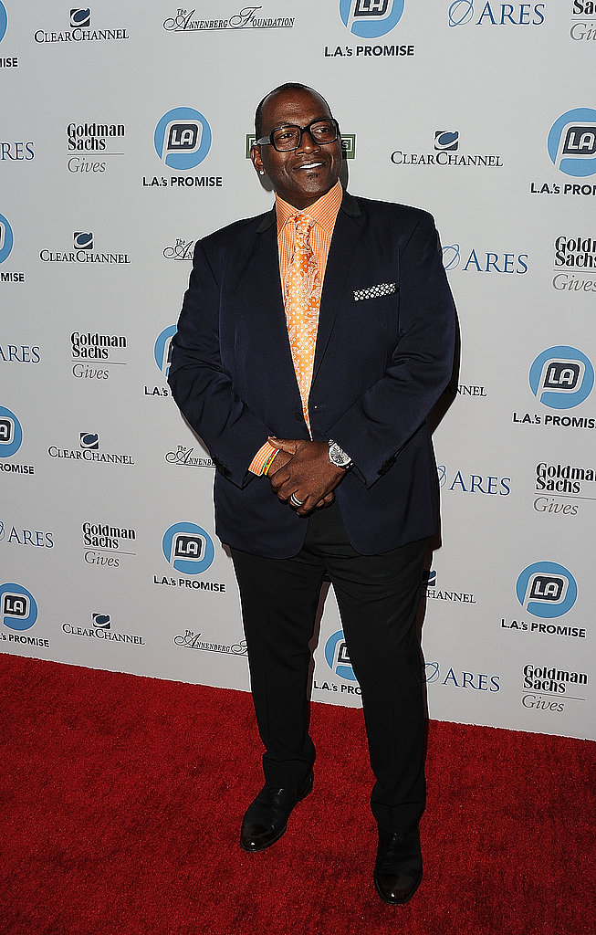 Randy Jackson came out in support of Ryan Seacrest at the Promise Gala.