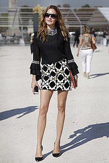 Spring 2012 Paris Fashion Week Street Style: Day 1