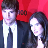 Ashton Kutcher Addresses Demi Moore Breakup Rumors (Video)