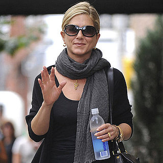 Jennifer Aniston Out in NYC With Smartwater Pictures