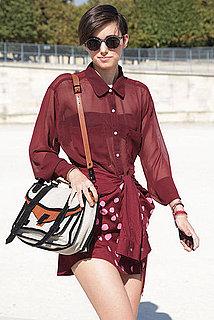 Spring 2012 Paris Fashion Week Street Style: Day 4