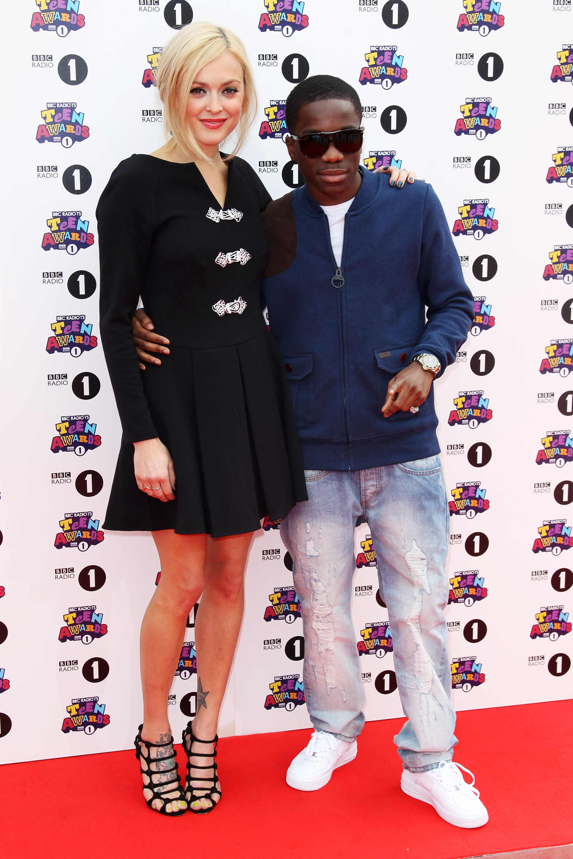 Fearne Cotton and Tynchy Stryder