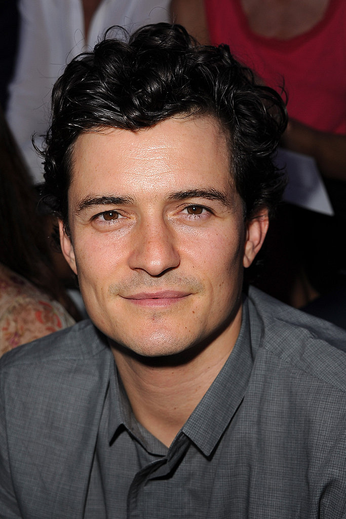 Orlando Bloom Front Row at Christian Dior