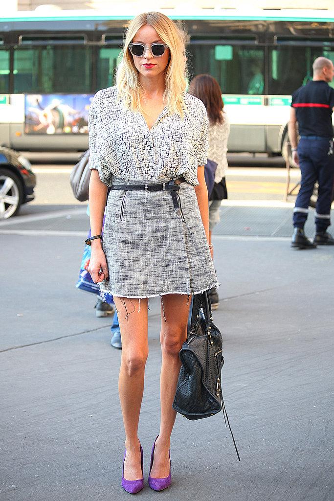 Paris Fashion Week Street Style 37 Striking Street Style Looks From Day Six Of Paris Fashion