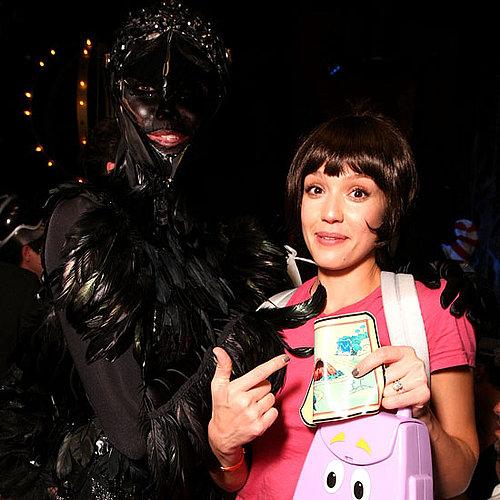 Jessica Alba was Dora the Explorer in 2009.