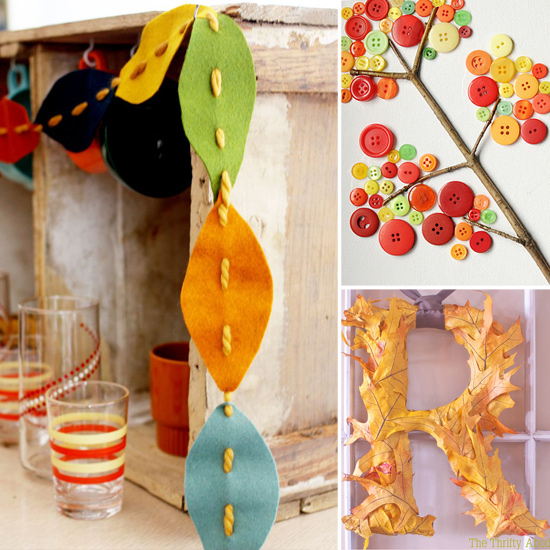 Creative and easy diy decor projects for fall popsugar moms for Easy diy fall crafts