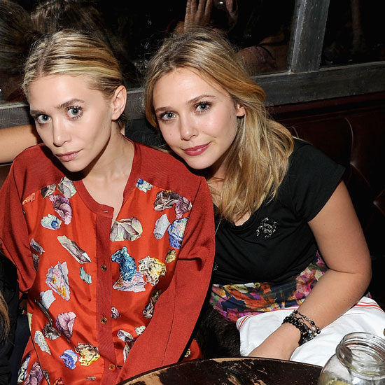 Photo of Elizabeth Olsen & her Sister  Ashley Olsen