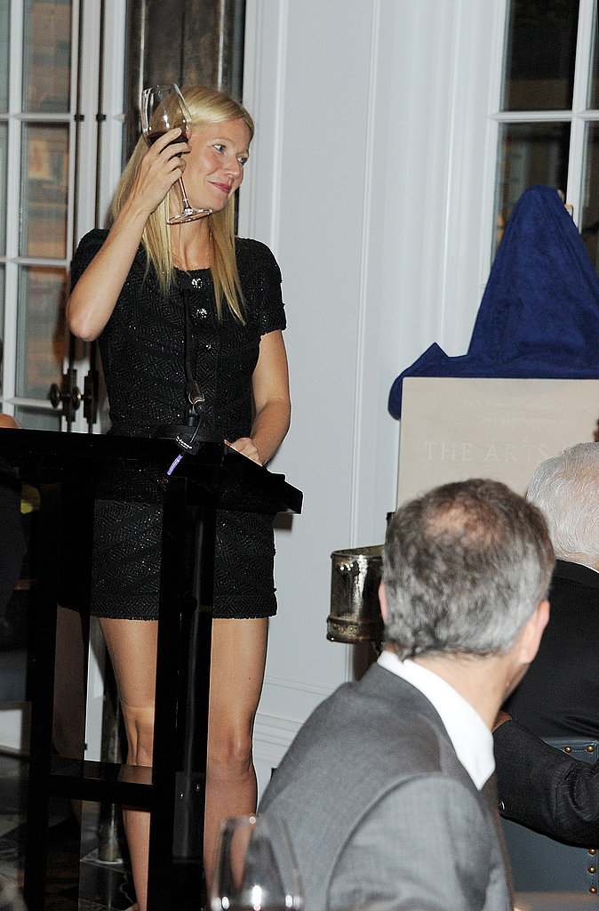 """Gwyneth Paltrow Sings Cee-Lo For Prince Philip and Says, """"Please Don't Tell the Queen!"""""""