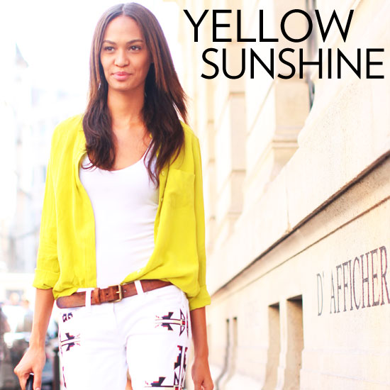 Paris Street Style — Yellow Looks