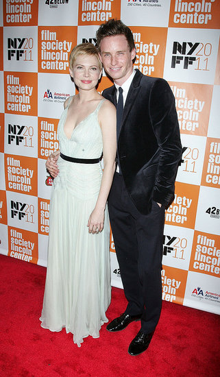 Michelle Williams and Eddie Redmayne hit the red carpet for My Week With Marilyn.
