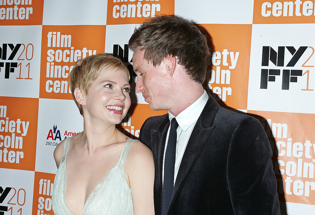 Michelle Williams and Eddie Redmayne looked at each other at the New York Film Festival.