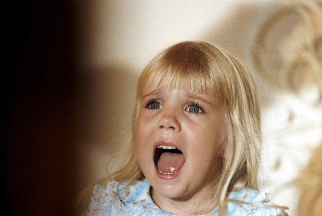 Heather O'rourke Drew Barrymore Heather O'rourke Poltergeist
