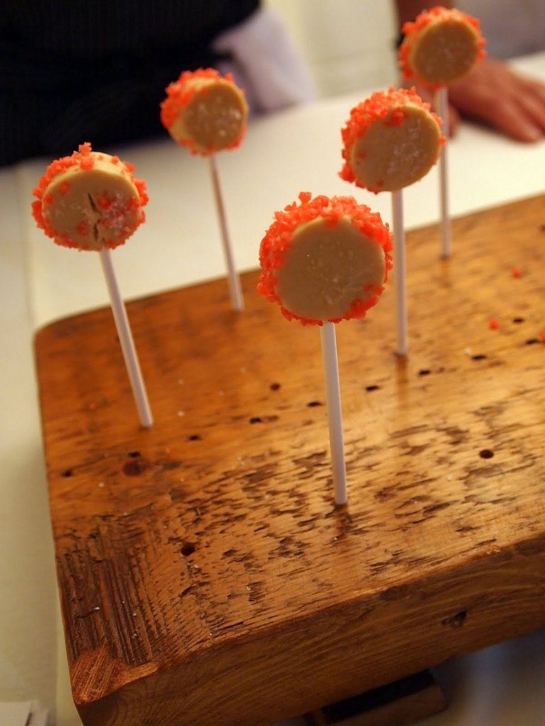 Foie Gras and Pop Rocks Lollipops