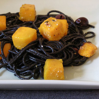 Black and Orange Pasta Recipe