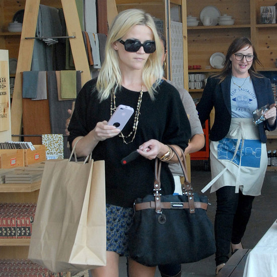 Reese Witherspoon Shops at Heath Ceramics Pictures