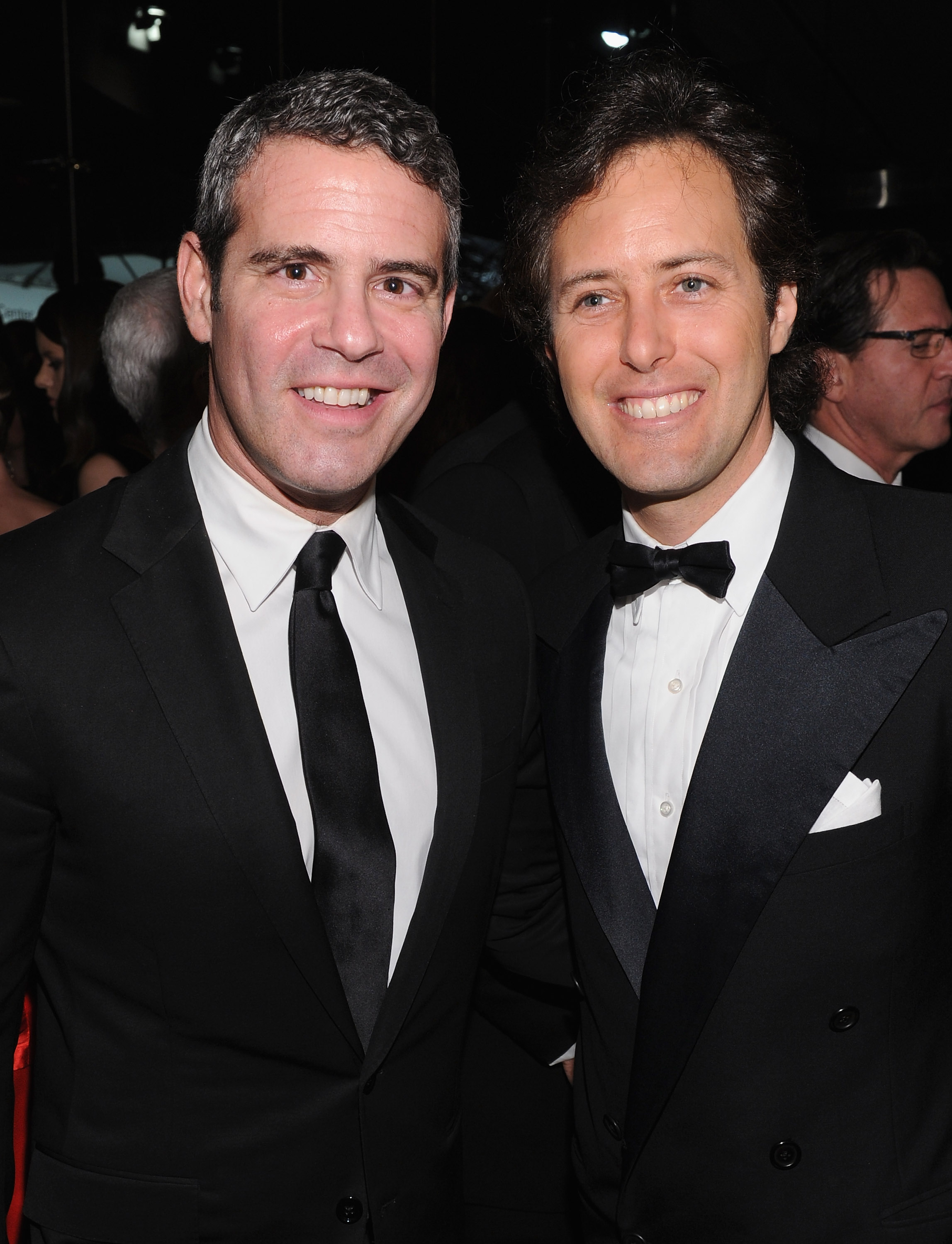 David Lauren and Andy Cohen hung out at an Evening with Ralph Lauren.