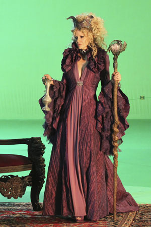 Kristin Bauer in Once Upon a Time. </p> <p>Photo copyright 2011 ABC, Inc.