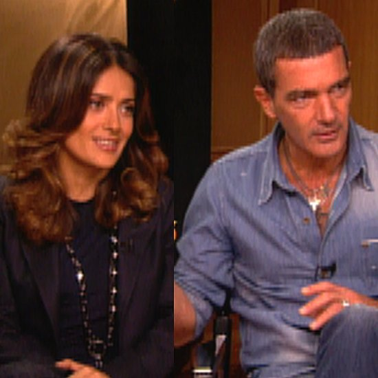 Salma Hayek and Antonio Banderas Video Interview For Puss in Boots