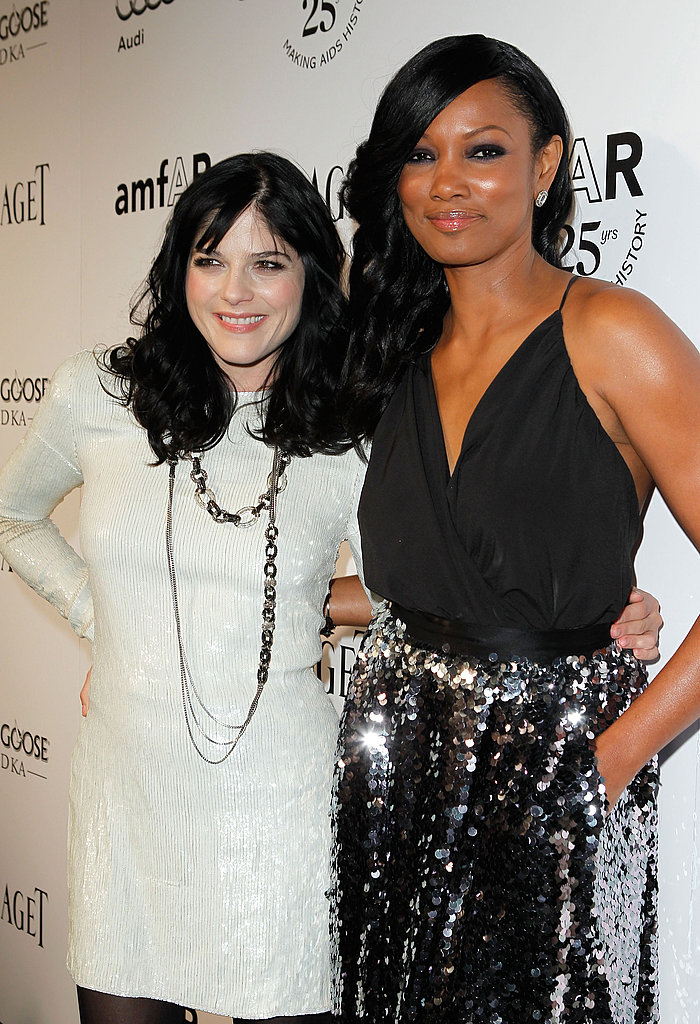 Selma Blair posed with Garcelle Beauvais.