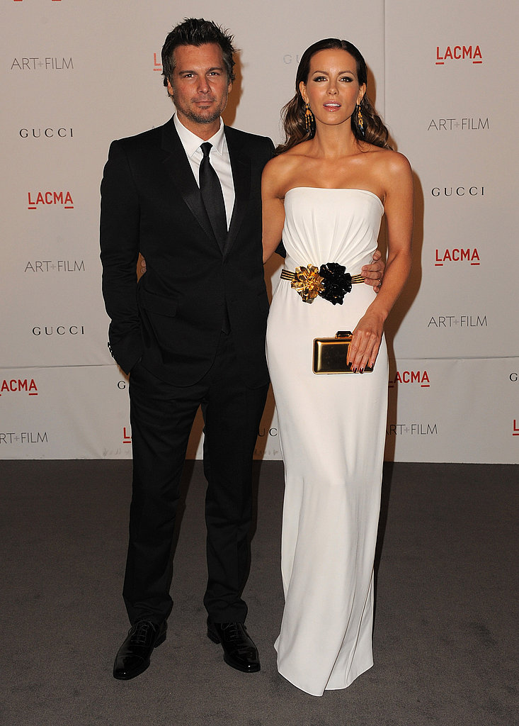 Kate Beckinsale with husband Len Wiseman.