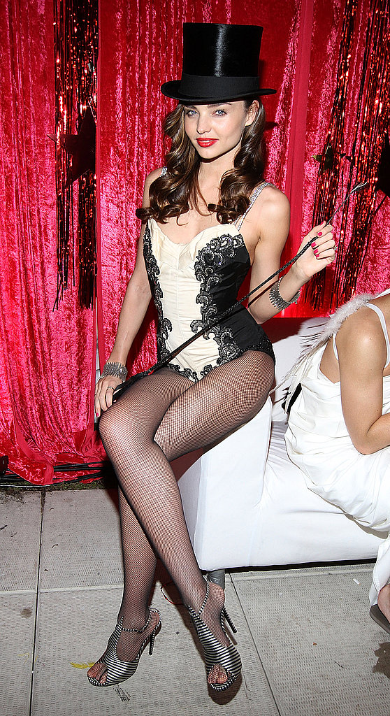 Miranda Kerr was a sexy ringleader for her NYC party in 2011.