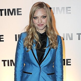 See Amanda Seyfried in H&M Blue Short Suit at the London Premiere of In Time: How She Makes It Work!