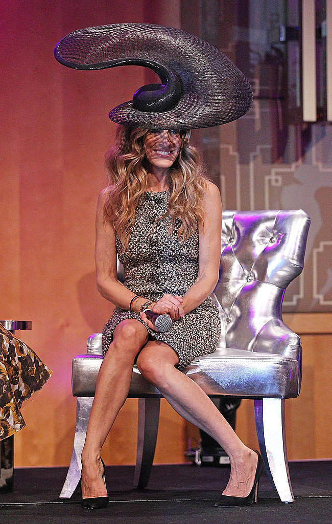 Sarah Jessica Parker took questions about her movie, I Don't Know How She Does It.