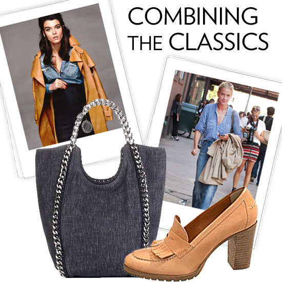 Winter Trend 2011: Camel and Denim
