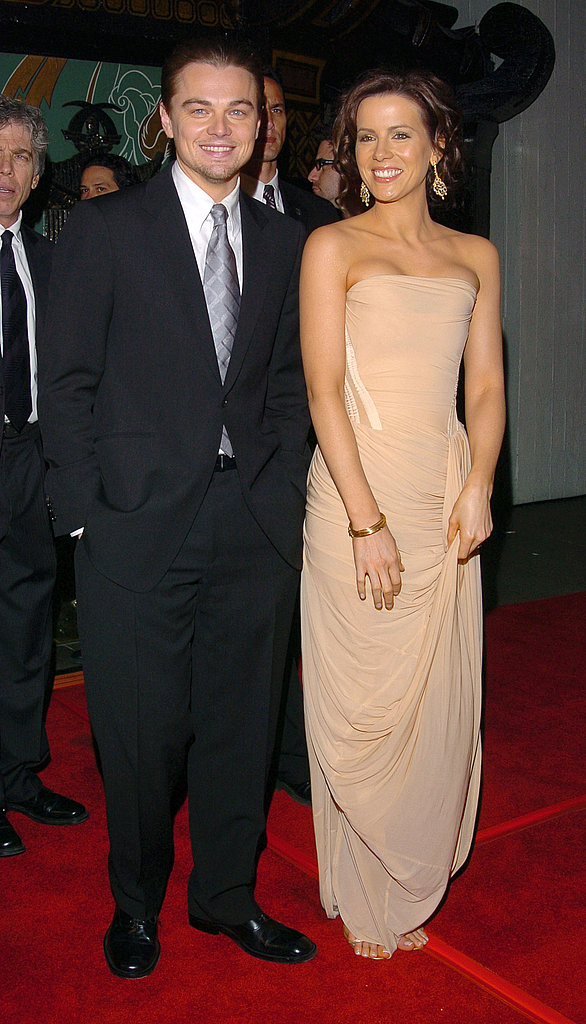 He walked the red carpet at the December 2004 premiere of The Aviator with his gorgeous costar Kate Beckinsale.